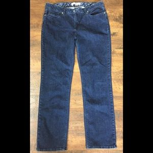 Levi 525 Perfect Waist Straight Leg Jeans sz 12 S